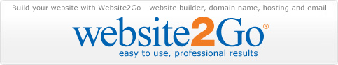 website2go - easy to build business websites